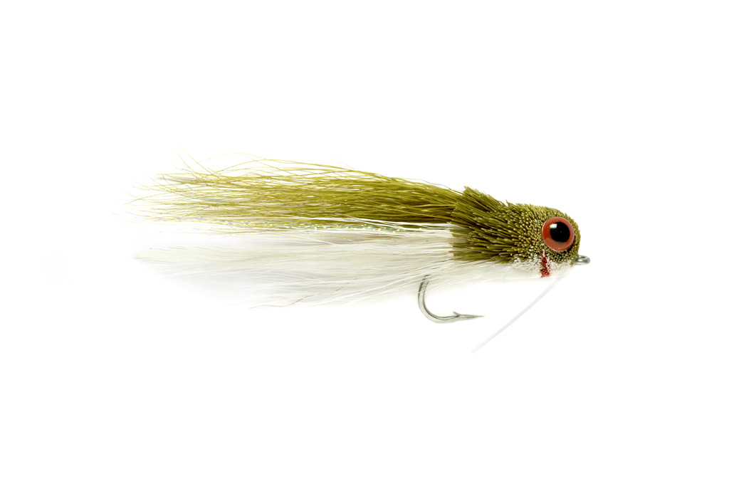 Rattlin Baitfish Olive & White